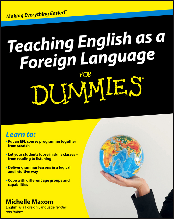 Michelle Maxom Teaching English as a Foreign Language For Dummies maxom michelle m tefl lesson plans for dummies