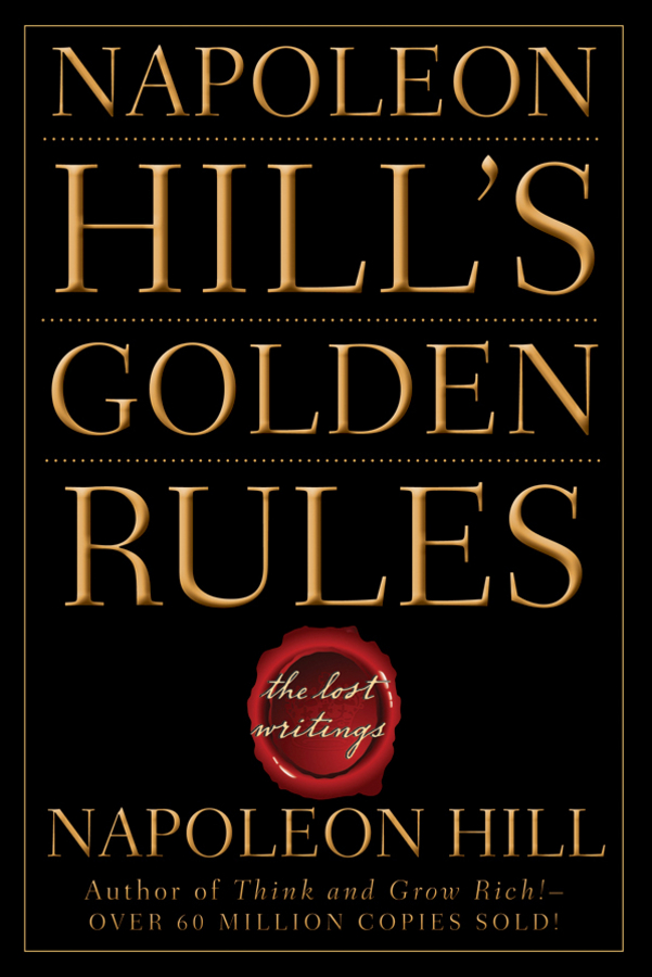 Napoleon Hill Napoleon Hill's Golden Rules. The Lost Writings hoodz dvd magazine issue 1