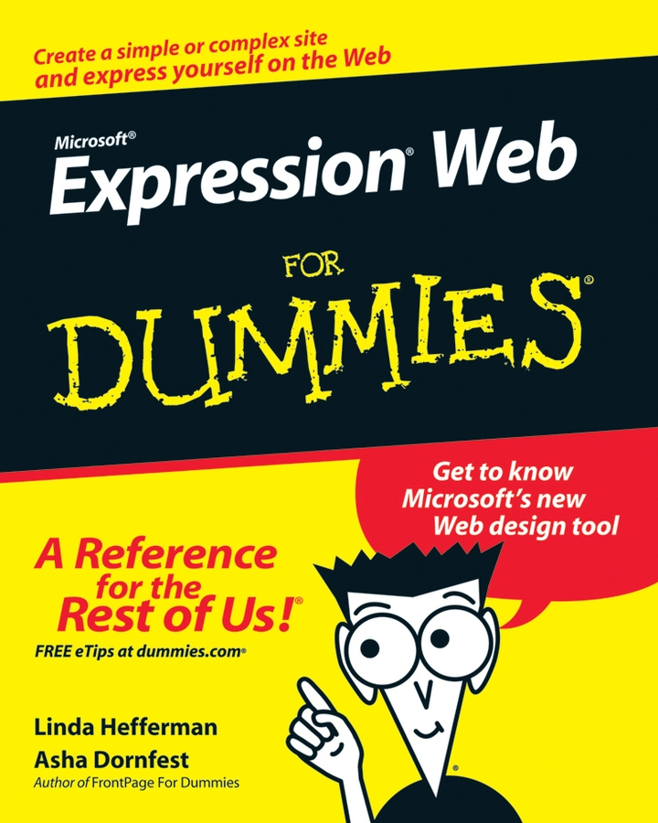 Asha Dornfest Microsoft Expression Web For Dummies vander veer creating web pages for dummies 3rd edition