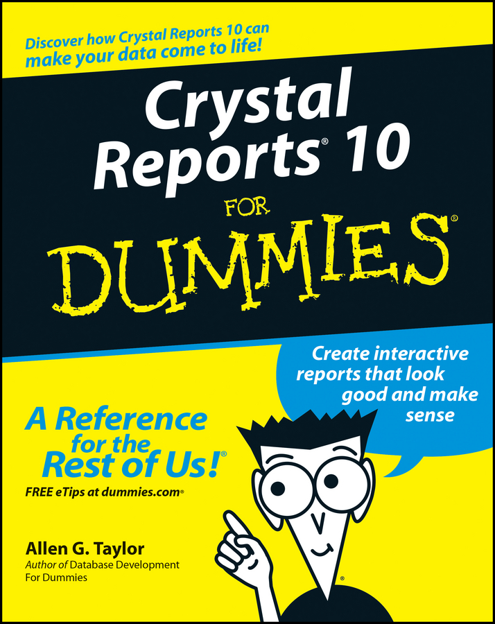 Allen Taylor G. Crystal Reports 10 For Dummies crystal oscillator socket for 10pin crystal size 7x5mm thickness 1 5mm xo cxp10 000 cp tp72nt crystal test burn in socket