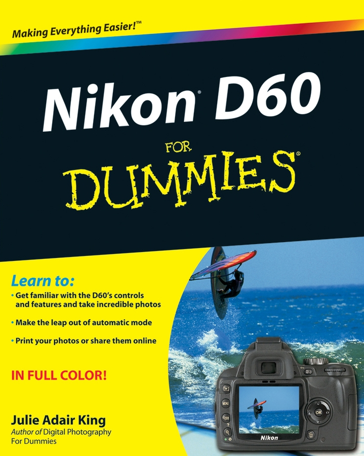 Julie Adair King Nikon D60 For Dummies dste multi power shutter battery grip for nikon d7100 mb d15 slr camera