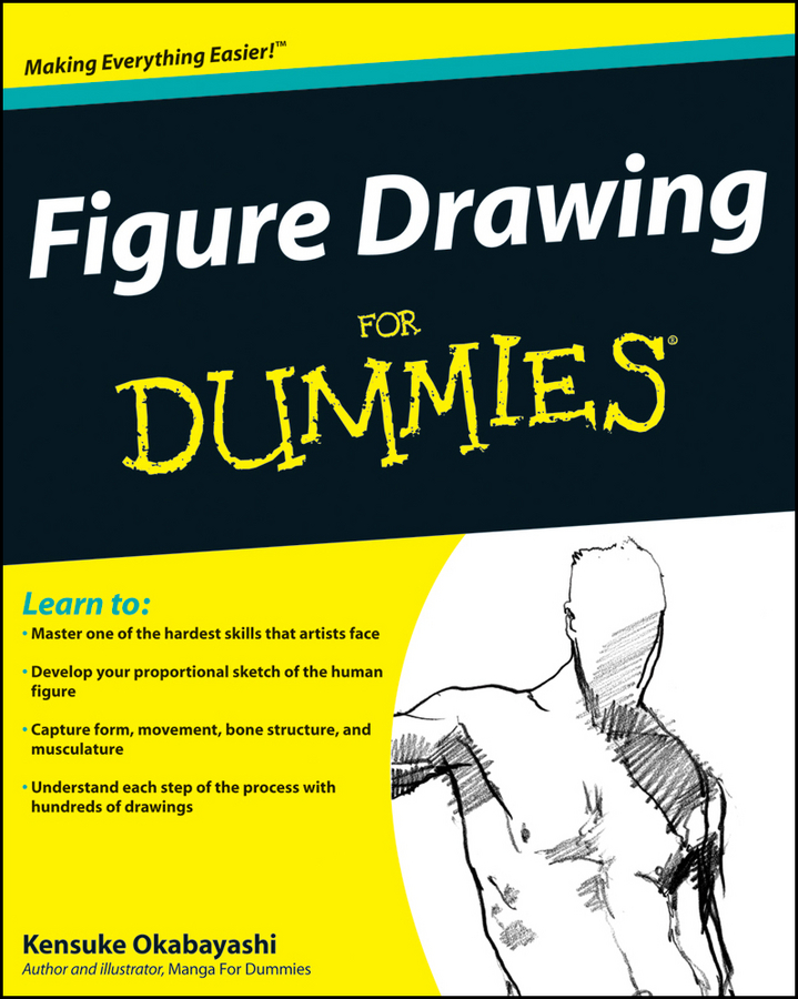 Kensuke Okabayashi Figure Drawing For Dummies цена и фото