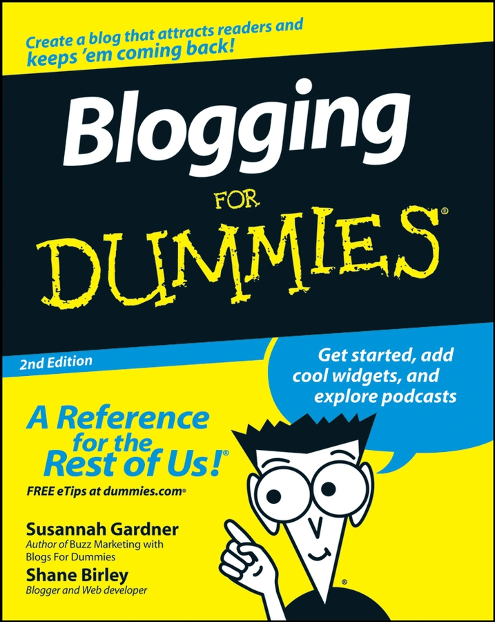 Susannah Gardner Blogging For Dummies melissa culbertson blog design for dummies
