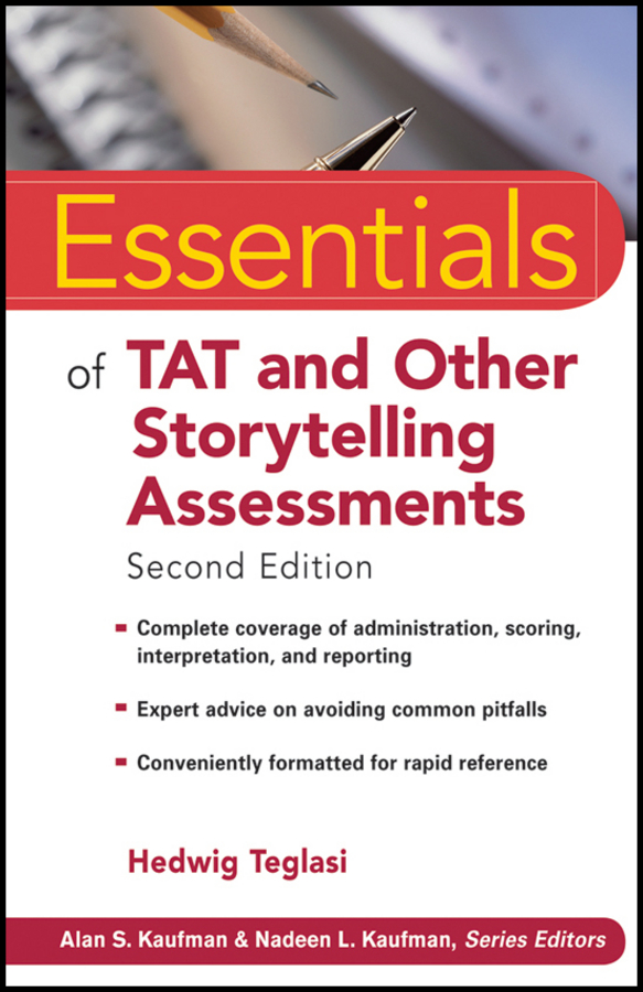 Hedwig Teglasi Essentials of TAT and Other Storytelling Assessments mccloskey george essentials of executive functions assessment