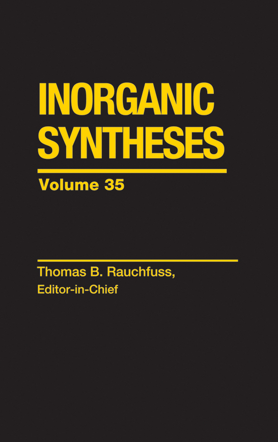Thomas Rauchfuss Inorganic Syntheses casting procedures