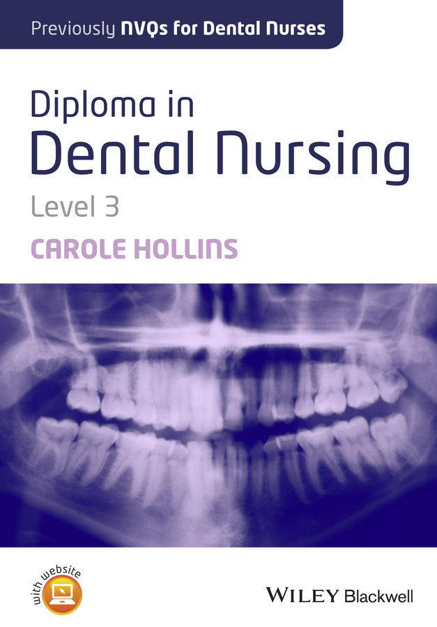 Carole Hollins Diploma in Dental Nursing, Level 3 microbial contamination of waterline in dental units