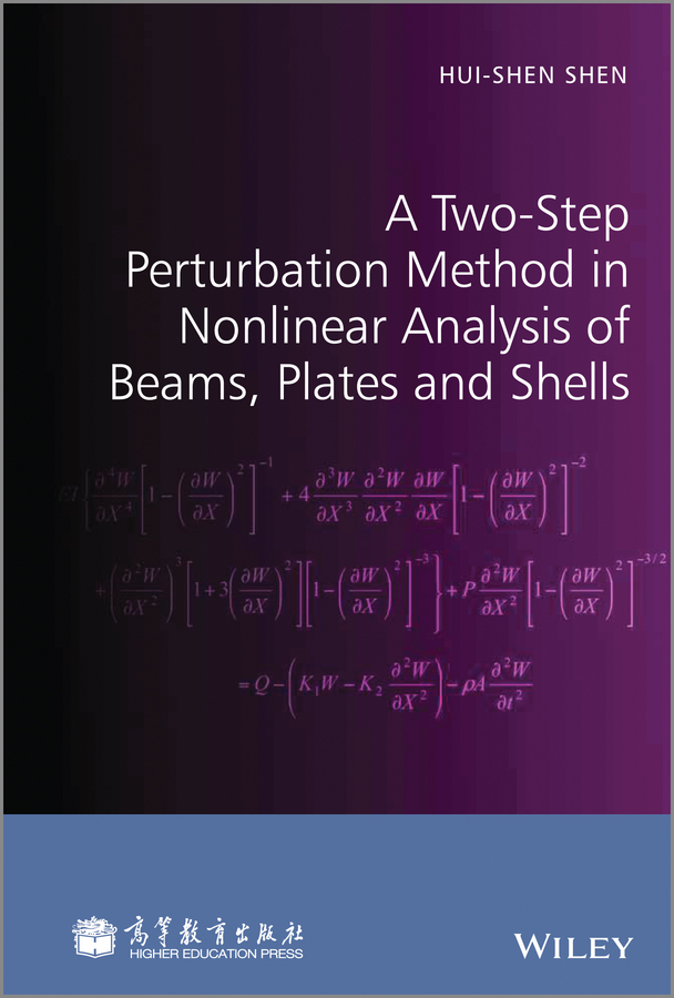 Hui-shen Shen A Two-Step Perturbation Method in Nonlinear Analysis of Beams, Plates and Shells автомобильное зарядное устройство buro tj 189 2 1 1а 2х usb черный