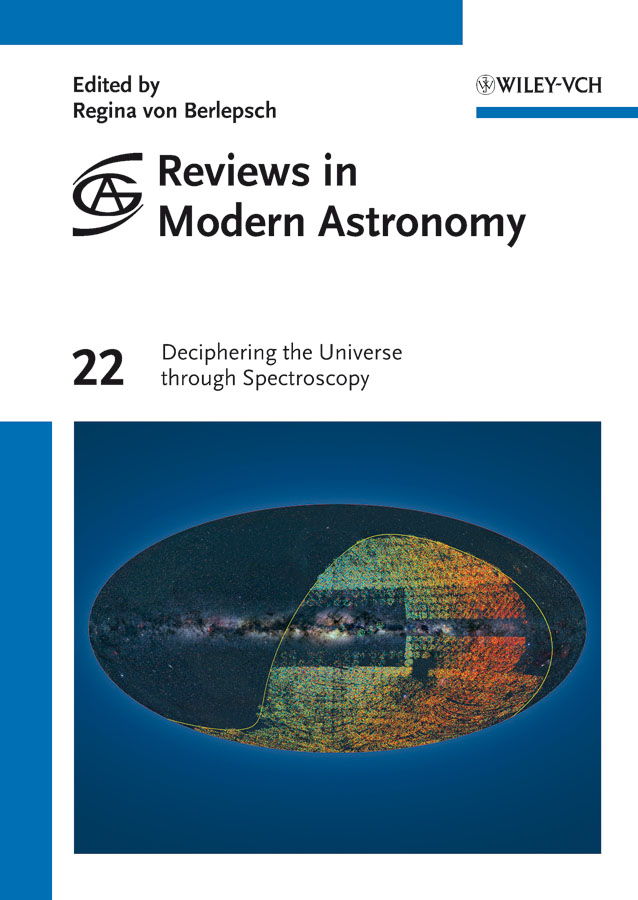 Regina Berlepsch von Reviews in Modern Astronomy, Deciphering the Universe through Spectroscopy the universe in a nutshell