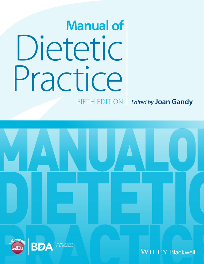Joan Gandy Manual of Dietetic Practice hiscock kevin m hydrogeology principles and practice