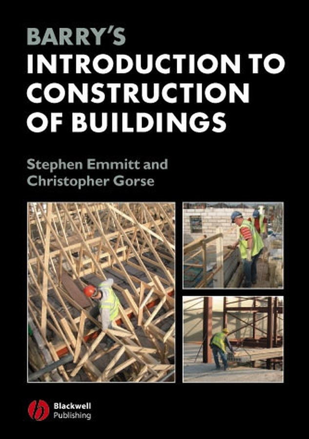 Emmitt Stephen Barry's Introduction to Construction of Buildings flight volume five