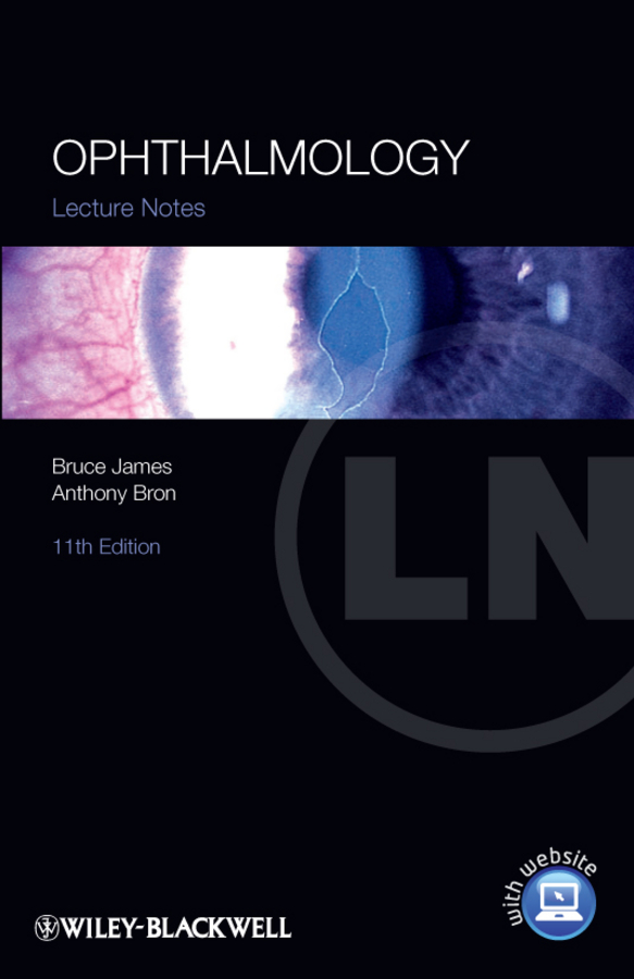 James Bruce Lecture Notes: Ophthalmology training in ophthalmology