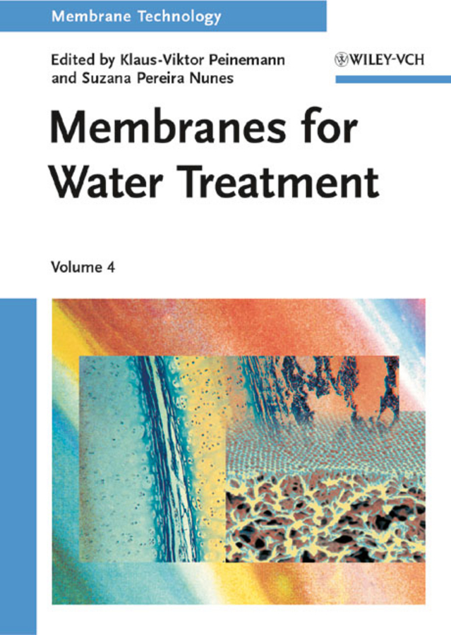 цена Nunes Suzana Pereira Membrane Technology, Volume 4. Membranes for Water Treatment