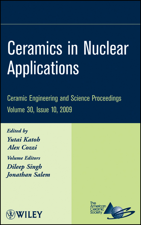 цена Jonathan Salem Ceramics in Nuclear Applications