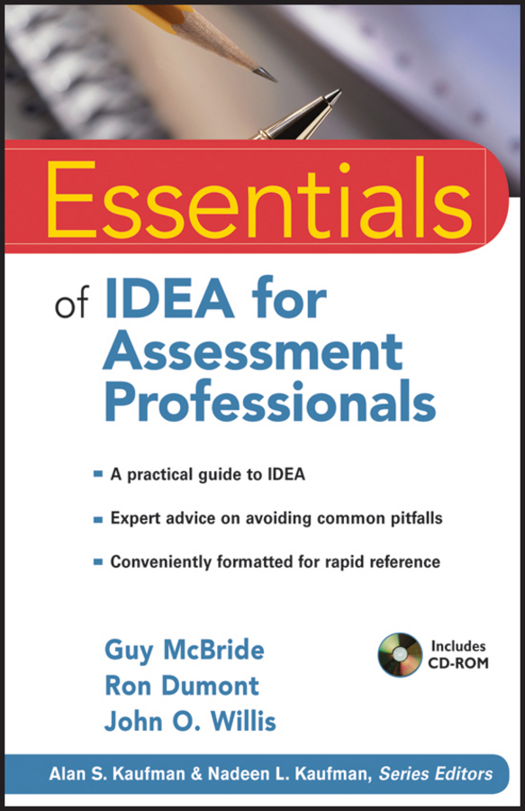 the idea комод thimon Ron Dumont Essentials of IDEA for Assessment Professionals