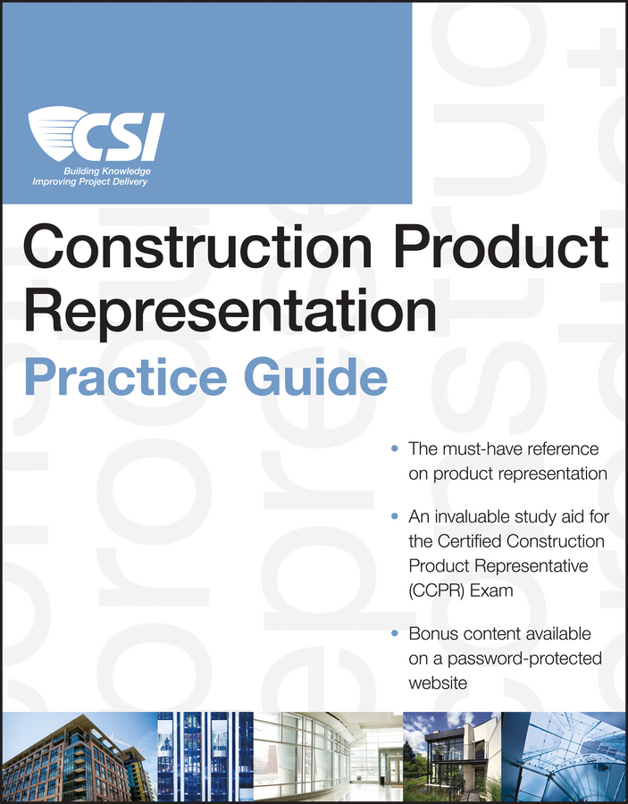 Construction Institute Specifications The CSI Construction Product Representation Practice Guide stuhrling original часы stuhrling original 729 01 коллекция legacy