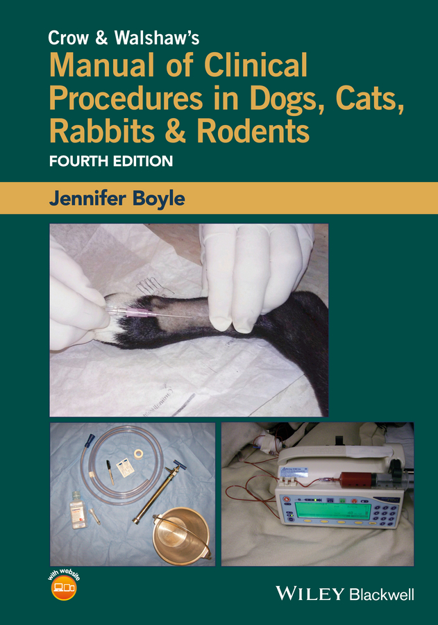 где купить Jennifer Boyle Crow and Walshaw's Manual of Clinical Procedures in Dogs, Cats, Rabbits and Rodents дешево