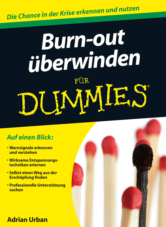 Adrian Urban Burn-out überwinden für Dummies gillian burn motivation for dummies