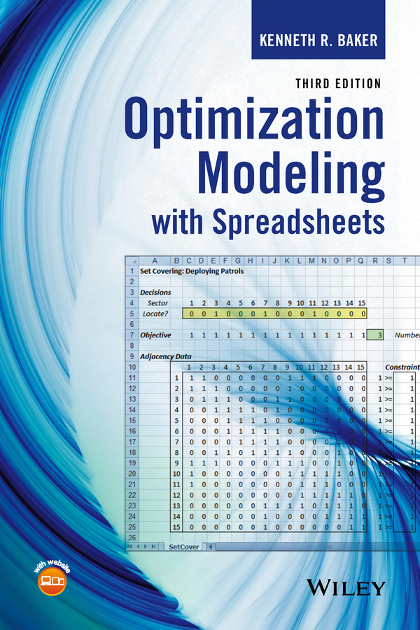 Kenneth Baker R. Optimization Modeling with Spreadsheets xin she yang engineering optimization an introduction with metaheuristic applications