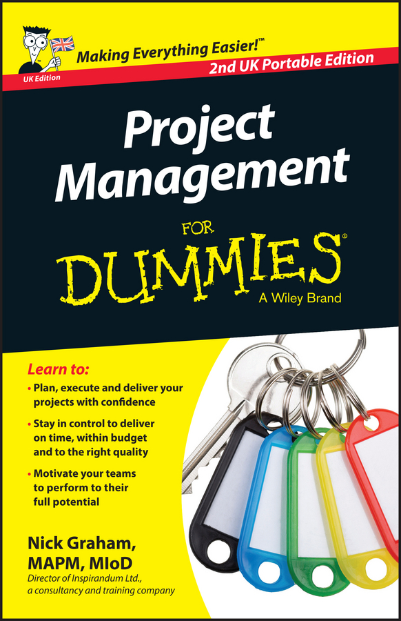 Nick Graham Project Management for Dummies daniel stanton supply chain management for dummies