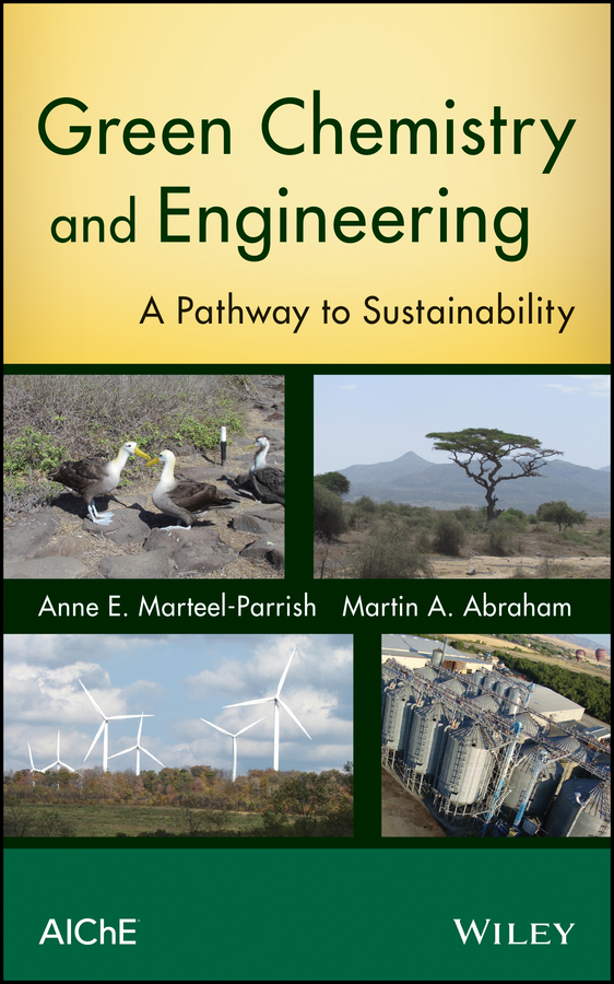 Anne Marteel-Parrish E. Green Chemistry and Engineering. A Pathway to Sustainability antimicrobial chemistry