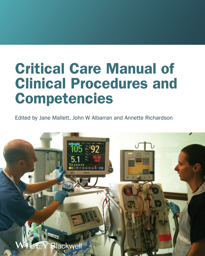 Jane Mallett Critical Care Manual of Clinical Procedures and Competencies