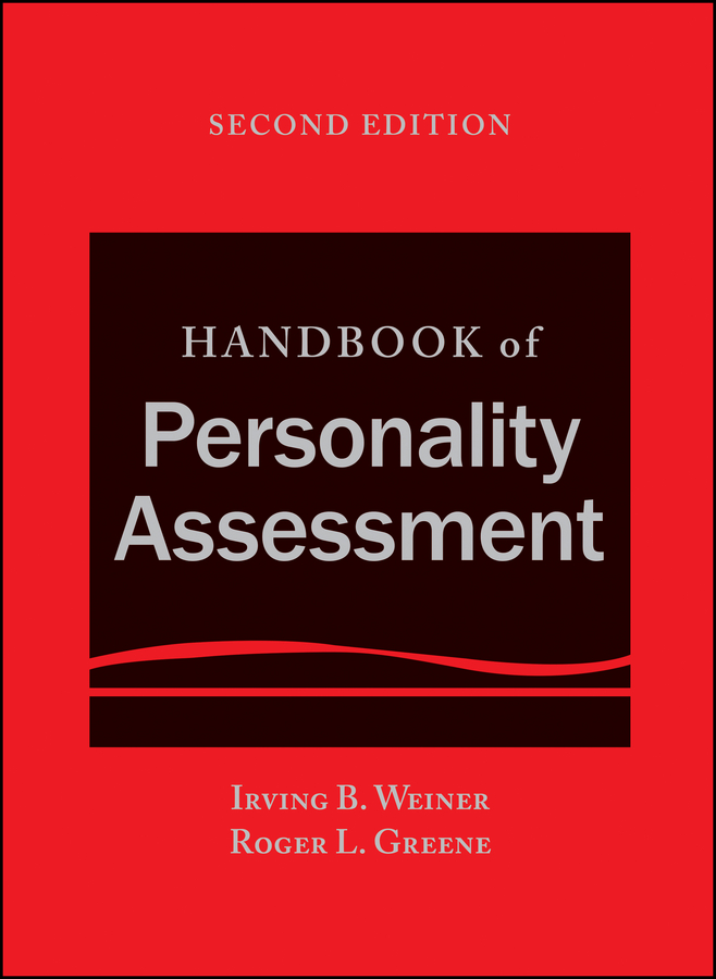 Irving Weiner B. Handbook of Personality Assessment ghetnet metiku mebrahtu woldu assessment of principles and practices of good governance in tax administration