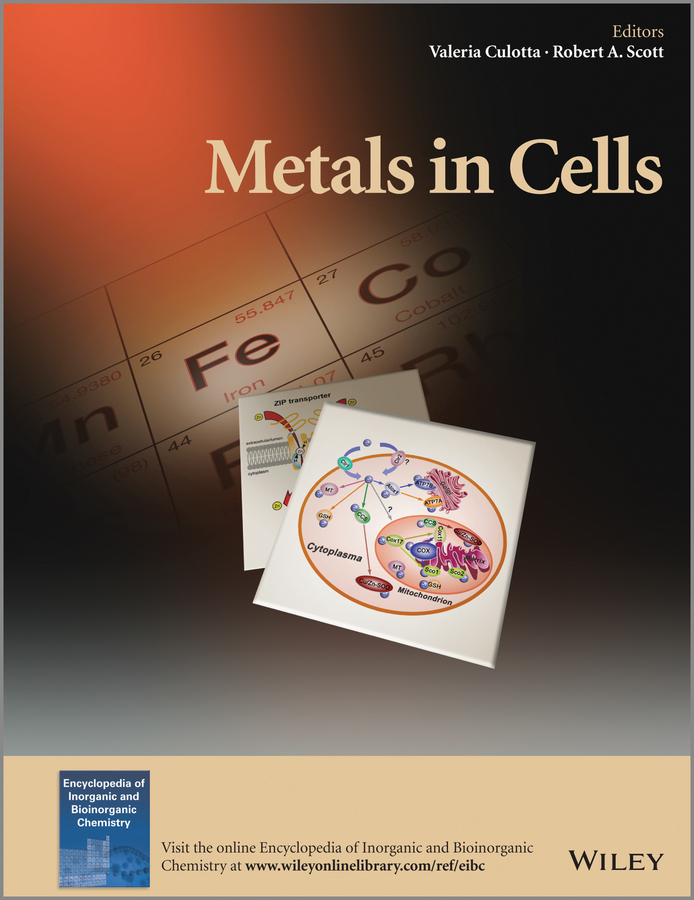Valeria Culotta Metals in Cells lo 250137к