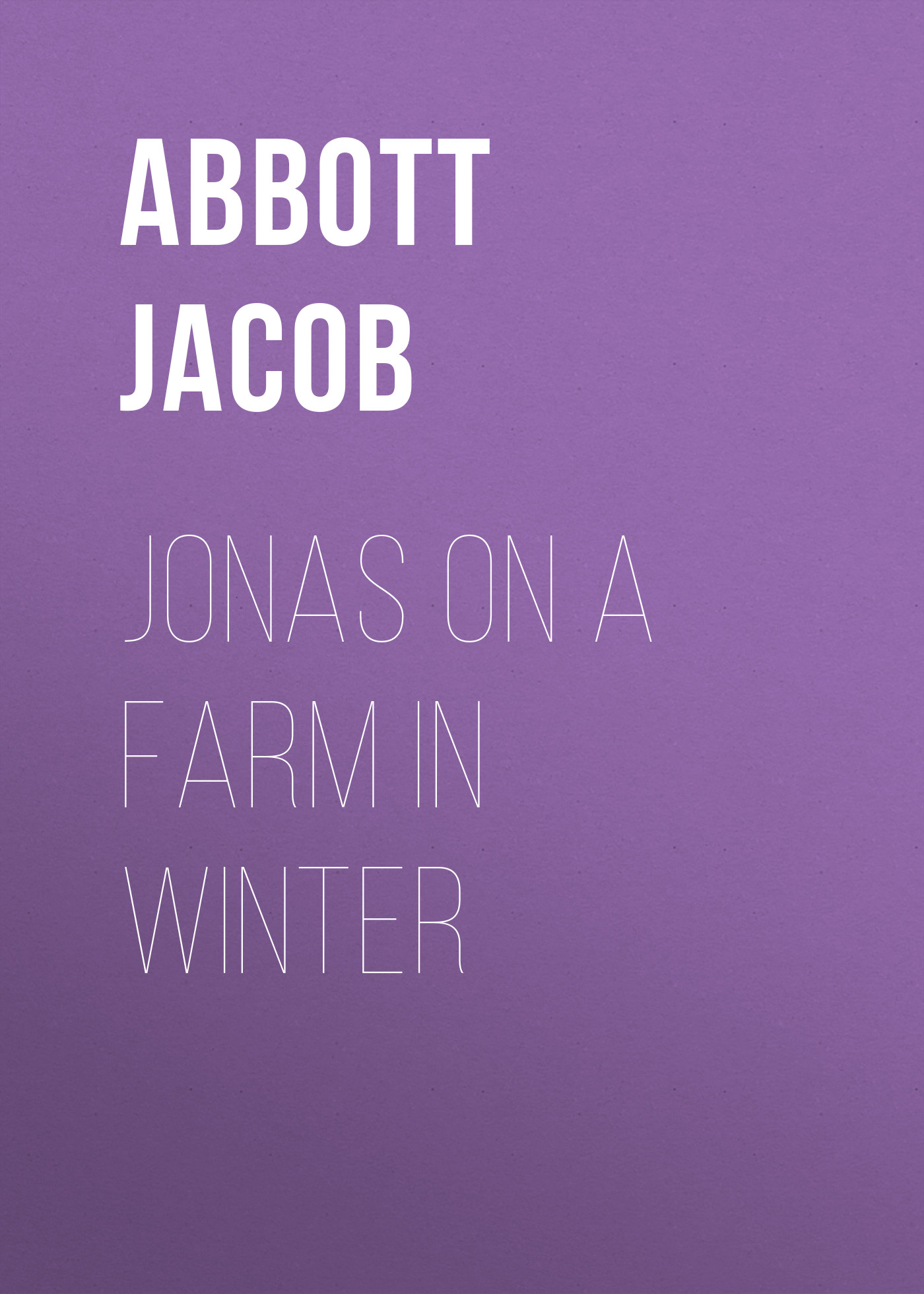 Abbott Jacob Jonas on a Farm in Winter abbott jacob cleopatra