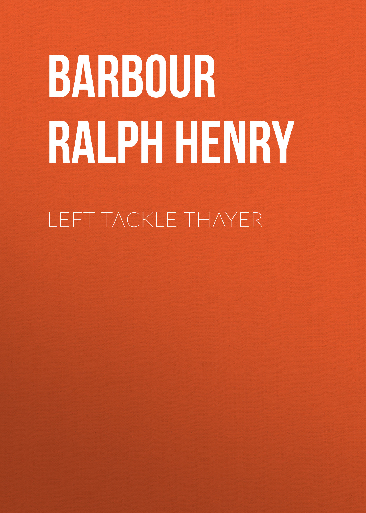 Barbour Ralph Henry Left Tackle Thayer 2pcs pairing left