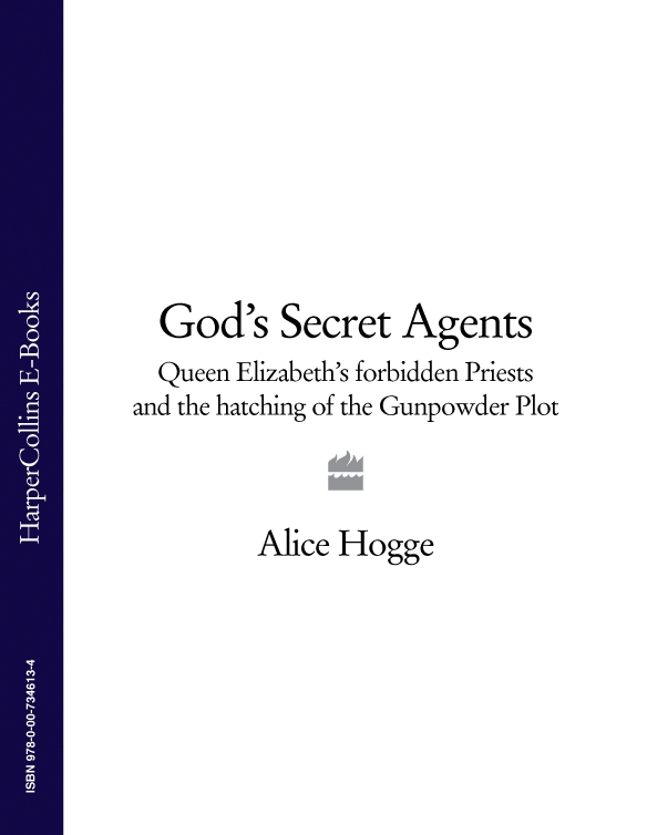 Alice Hogge God's Secret Agents: Queen Elizabeth's Forbidden Priests and the Hatching of the Gunpowder Plot