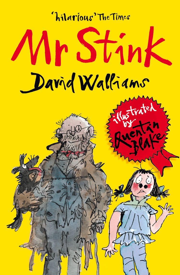 Quentin Blake Mr Stink stink the incredible shrinking kid