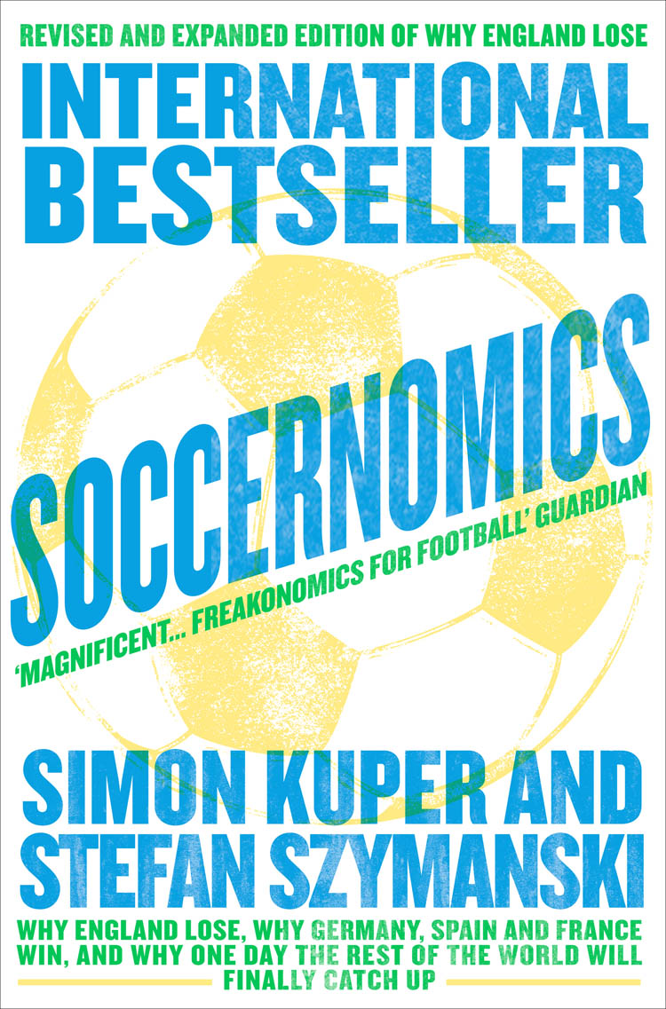 Simon Kuper Soccernomics noble drakoln winning the trading game why 95% of traders lose and what you must do to win