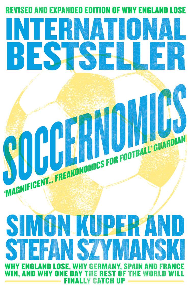 Simon Kuper Soccernomics цена