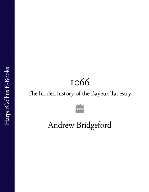 Andrew Bridgeford 1066: The Hidden History of the Bayeux Tapestry bricks print waterproof wall hanging tapestry