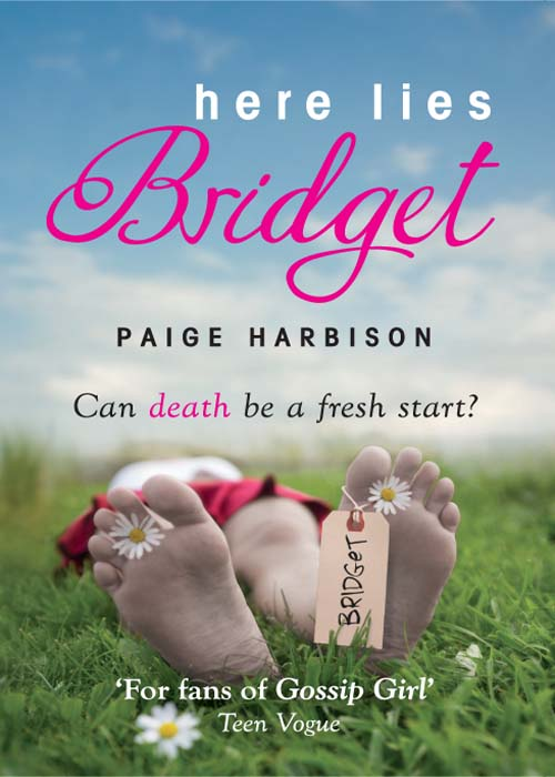 Paige Harbison Here Lies Bridget here lies my heart