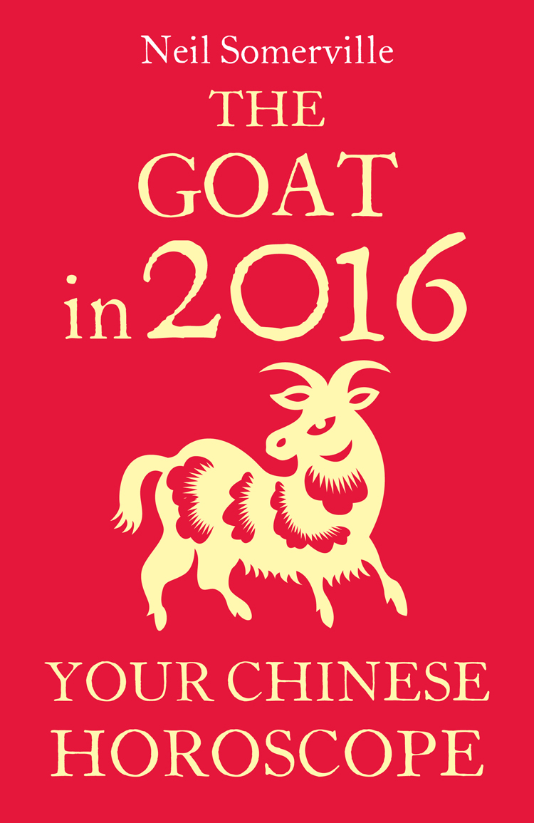 Neil Somerville The Goat in 2016: Your Chinese Horoscope скальп петуха veniard chinese cock cape