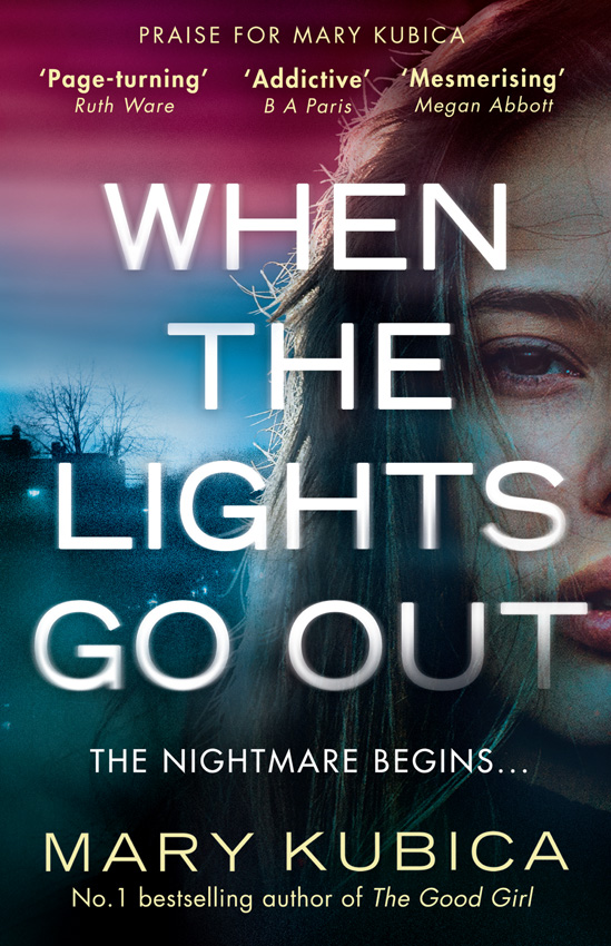 Mary Kubica When The Lights Go Out: The addictive new thriller from the bestselling author of The Good Girl the good mother