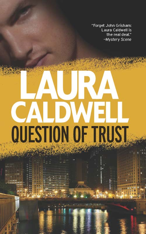 Laura Caldwell Question of Trust trust toilette пиджак