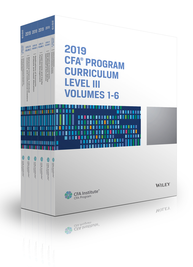 CFA Institute CFA Program Curriculum 2019 Level III Volumes 1-6 Box Set information management in diplomatic missions