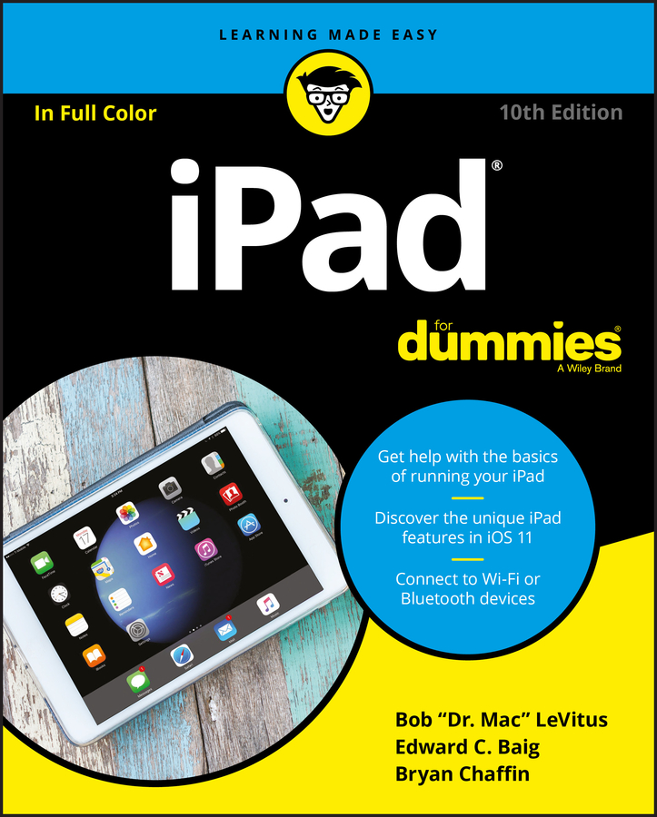 Bob LeVitus iPad For Dummies sam gliksman ipad in education for dummies