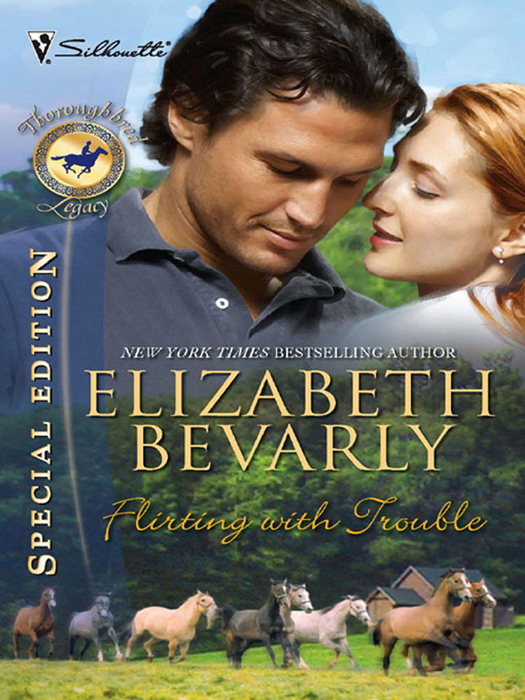 Elizabeth Bevarly Flirting with Trouble elizabeth bevarly the perfect father