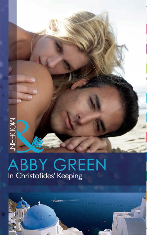 ABBY GREEN In Christofides' Keeping