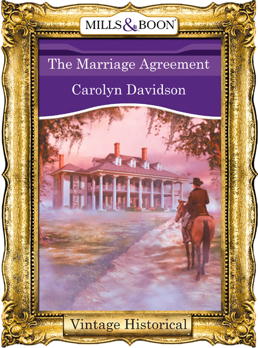 Carolyn Davidson The Marriage Agreement