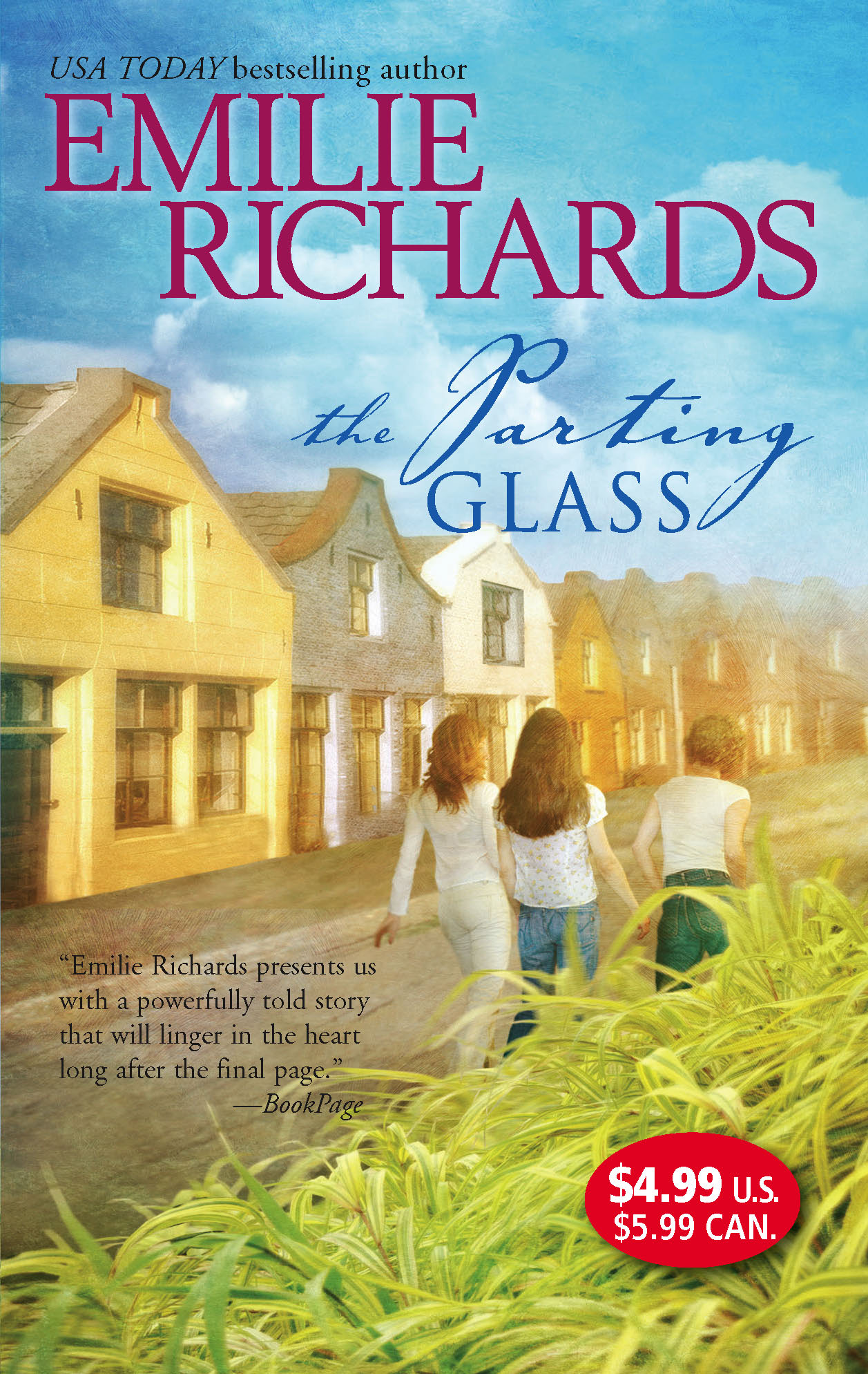 Emilie Richards The Parting Glass facing the modern