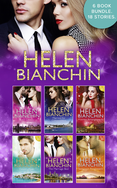 HELEN BIANCHIN The Helen Bianchin Collection helen bianchin the marriage campaign