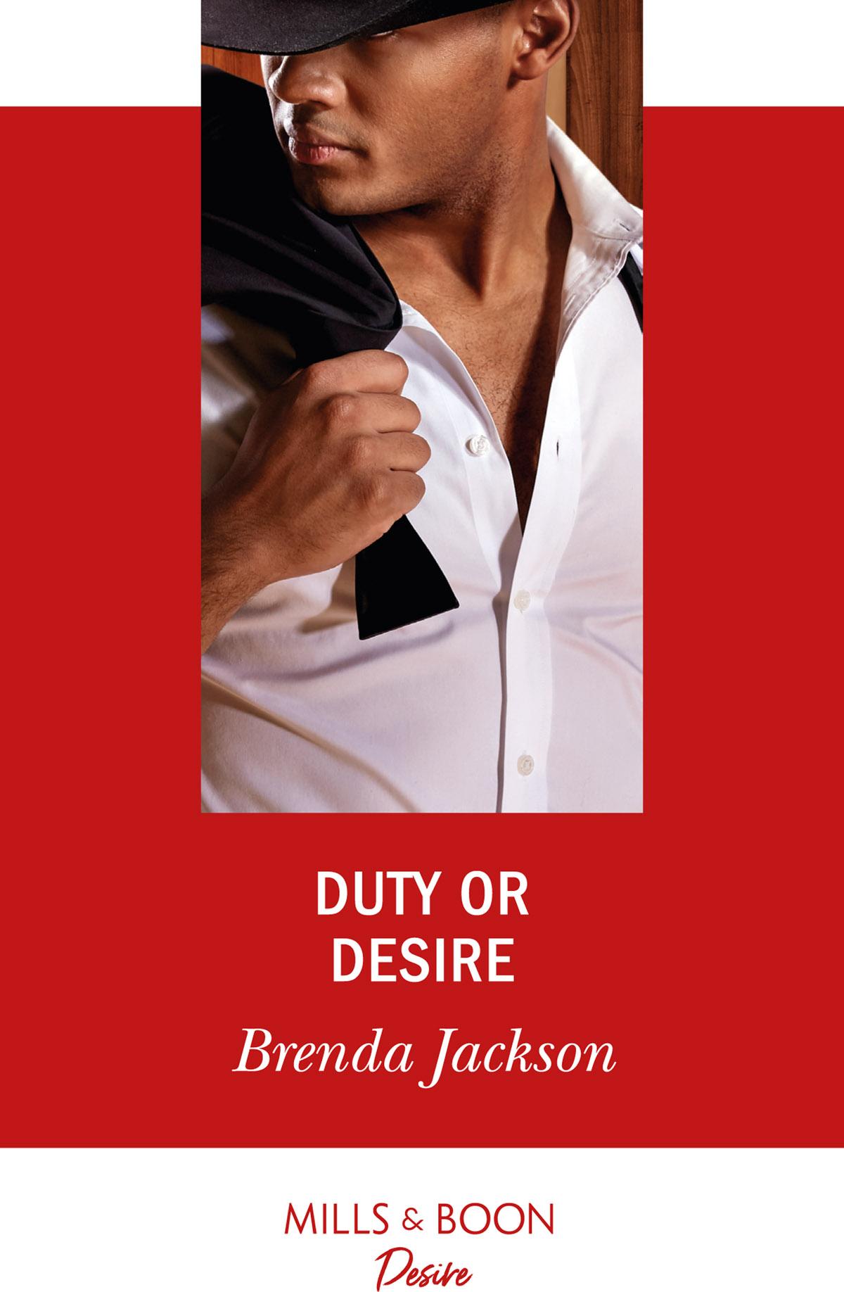 Brenda Jackson Duty Or Desire the man and his bike