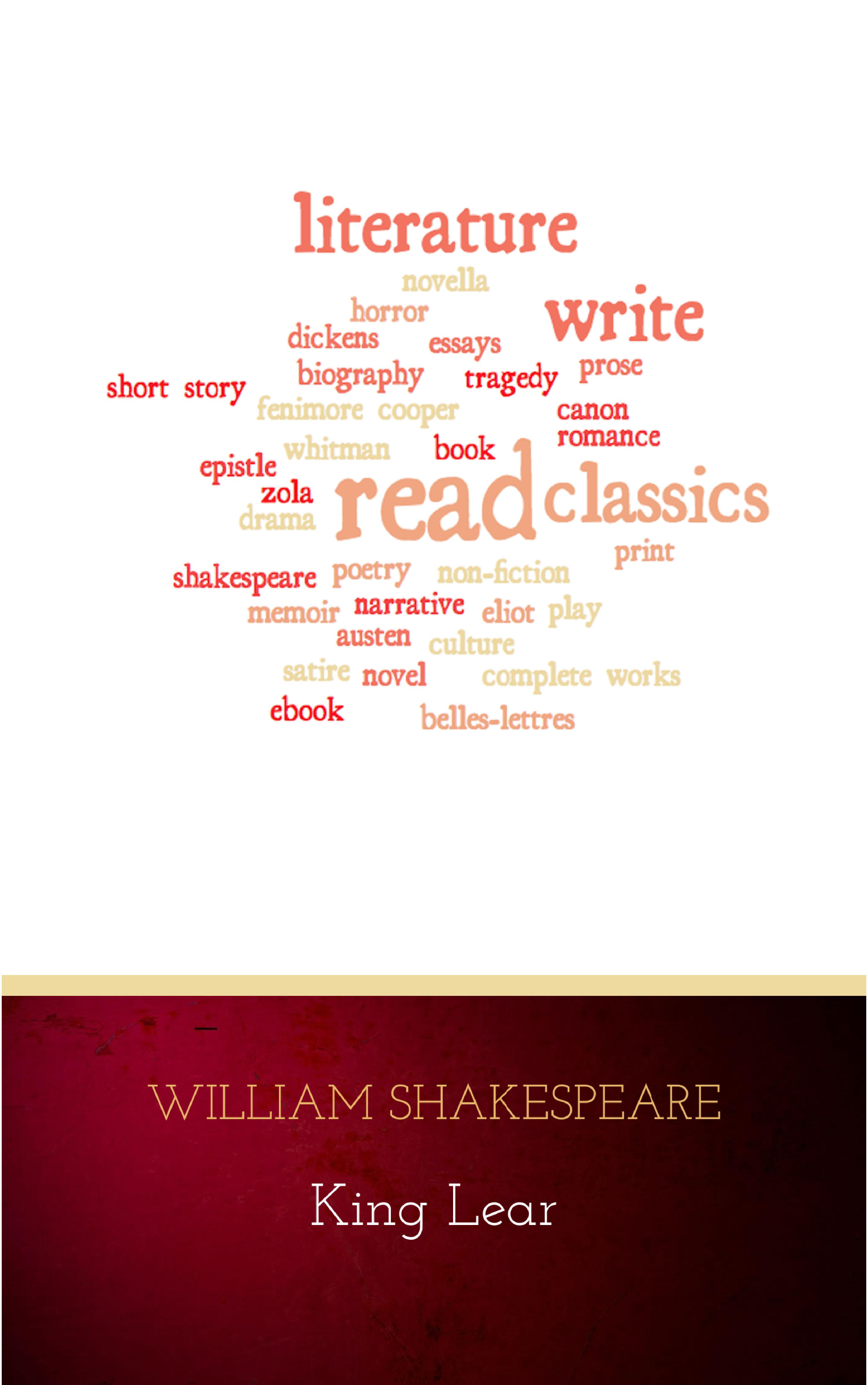 William Shakespeare King Lear king lear classroom questions