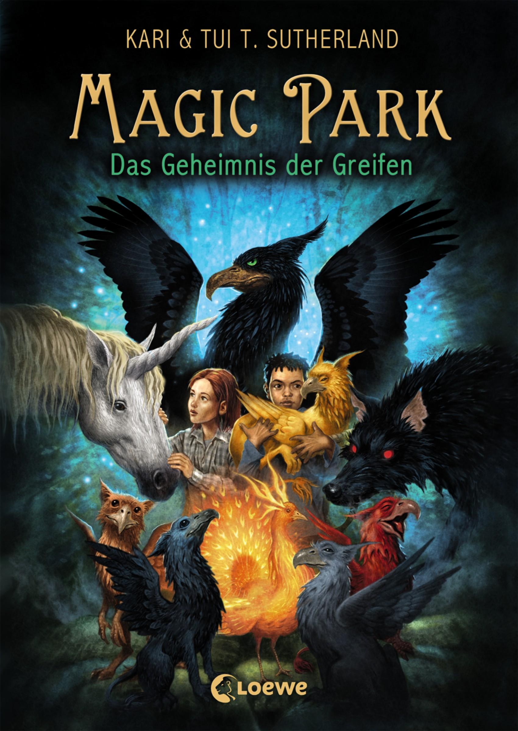 Kari Sutherland Magic Park 1 - Das Geheimnis des Greifen набор аэропорт kari 11 предм bt908951a kari