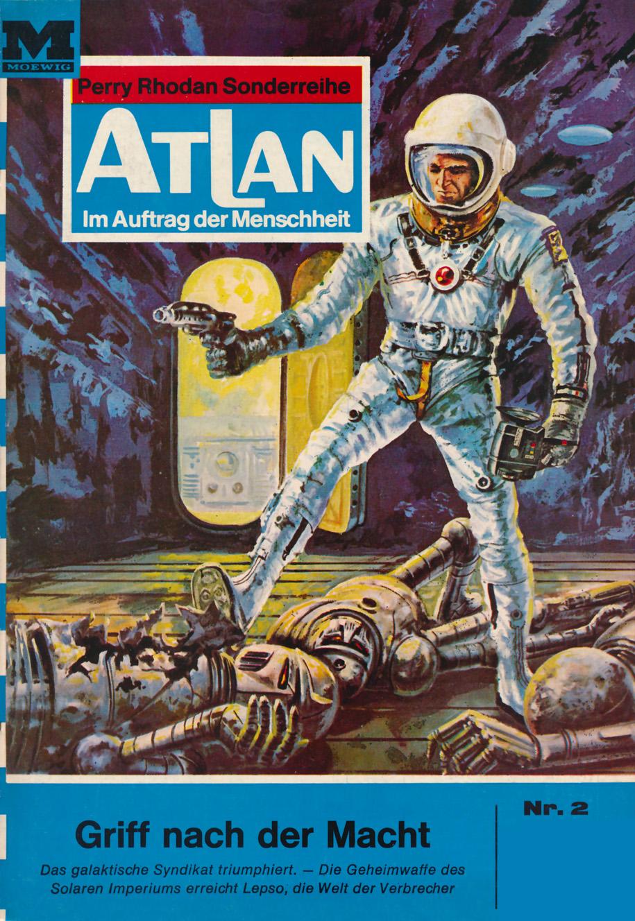K.H. Scheer Atlan 2: Griff nach der Macht
