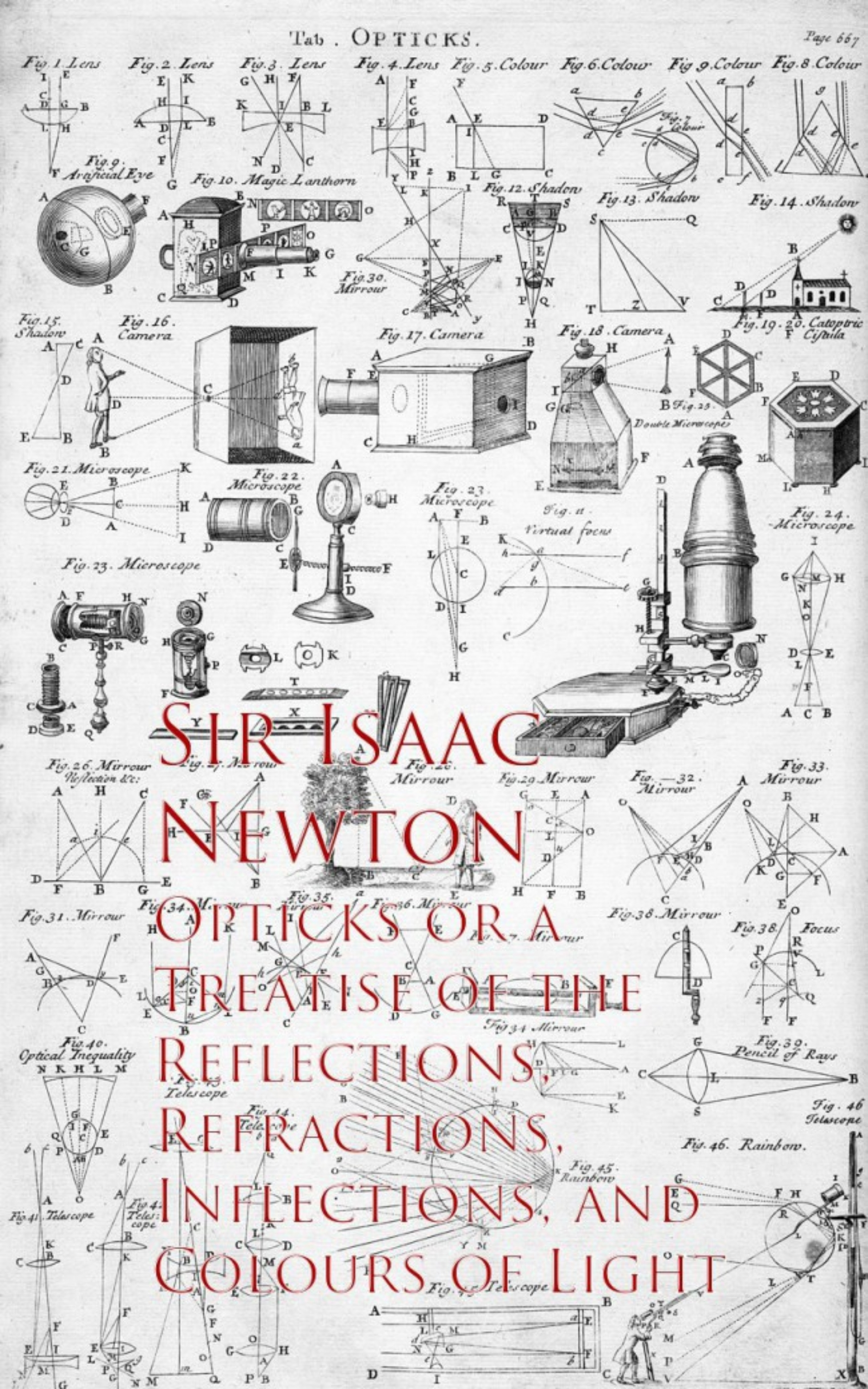 Sir Isaac Newton Opticks or a Treatise of the Reflections, Refracections, and Colours of Light isaac newton optice
